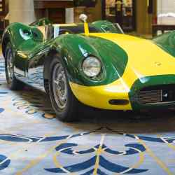 One of 10 recreations of the Lister Knobbly Stirling Moss, £996,000 from The Lister Motor Company