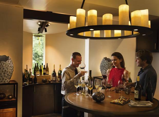 A cellar wine tasting at Lemuria Seychelles