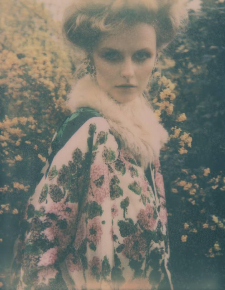 Cotton top, £405, and shearling collar, £435, both by Marni. Silk coat, €1,715, by Antonio Marras. Dominique Aurientis 1980s vintage metal and rhinestone sun ear clips, £650, from Atelier MayerAntonio Marras, www.antoniomarras.it and see Thecorner.com. Atelier Mayer, 47 Kendal Street, London W2 (020-7706 7200; www.atelier-mayer.com). Thecorner.com, 0800-046 3699; www.thecorner.com. Marni, 26 Sloane Street, London SW1 (020-7245 9520; www.marni.com).