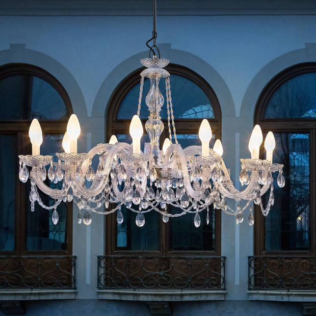 Christopher Wray Venezia chandelier, from £975