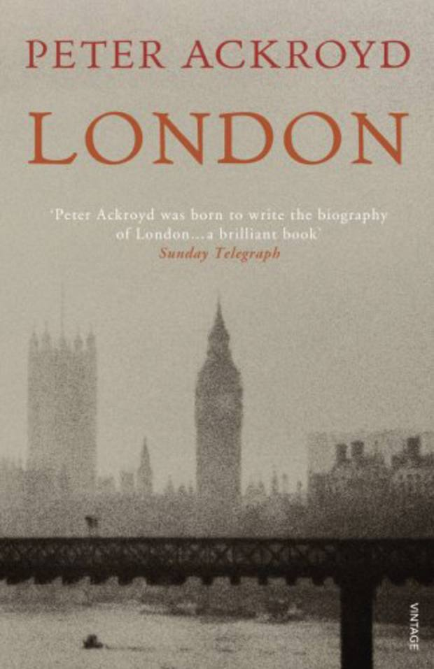 London by Peter Ackroyd: Little's favourite book this year