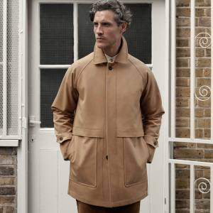 SEH Kelly Ventile cotton car coat, from £370
