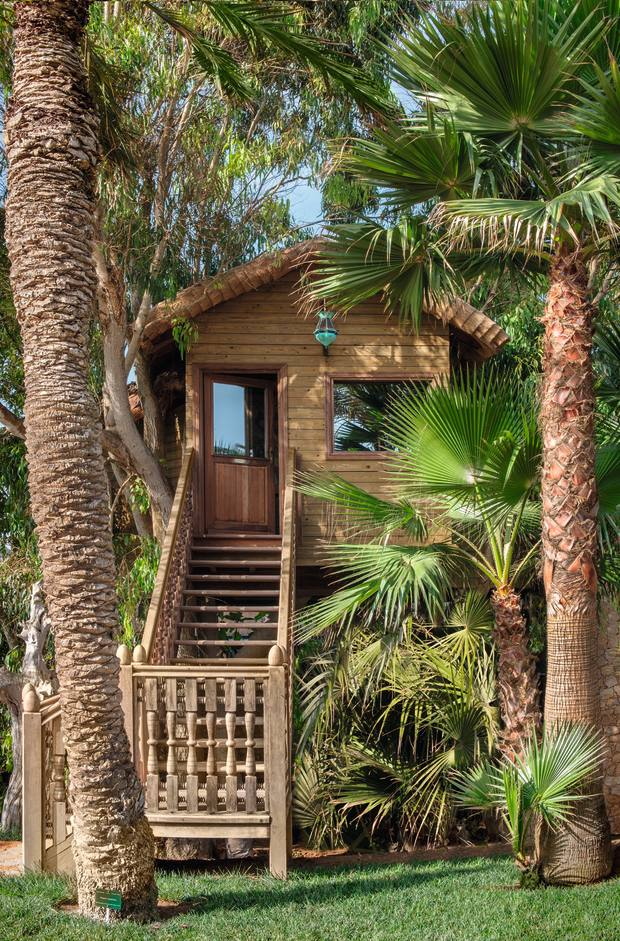 The Treehouse Suite at La Sultana Oualidia, Morocco
