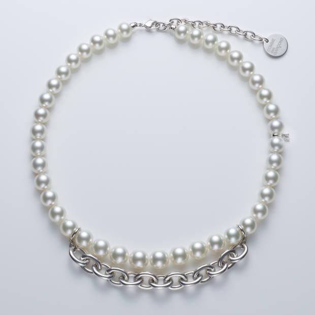 Mikimoto Comme des Garçons silver South Sea pearl necklace, £28,000