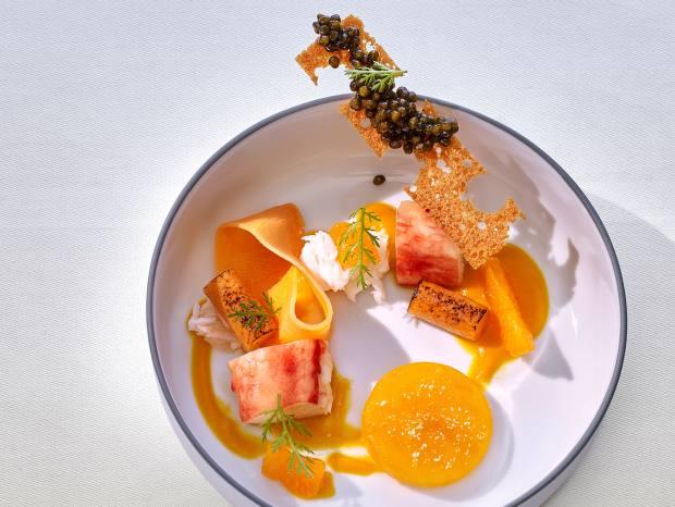 Thomas Bühner's set menu will feature seven courses