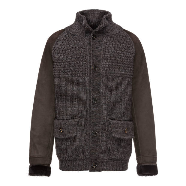 Sealup merino-wool and nylon Engadina sweater jacket, €2,200