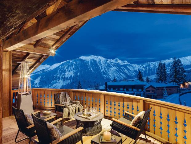 Six Senses Residences in Courchevel 1850, where properties cost €1.5m-€9.65m through Savills