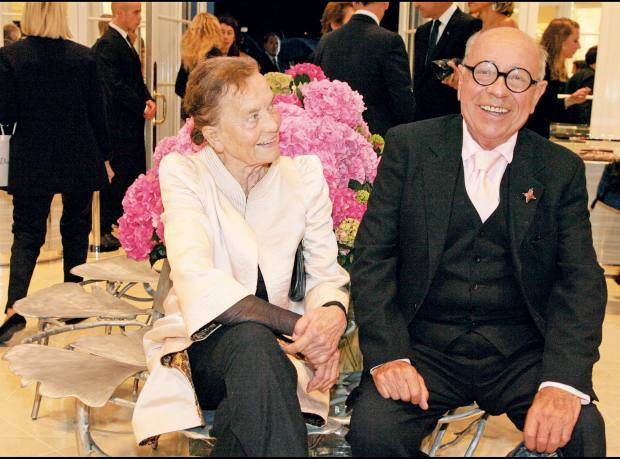 Claude and François-Xavier Lalanne in 2007