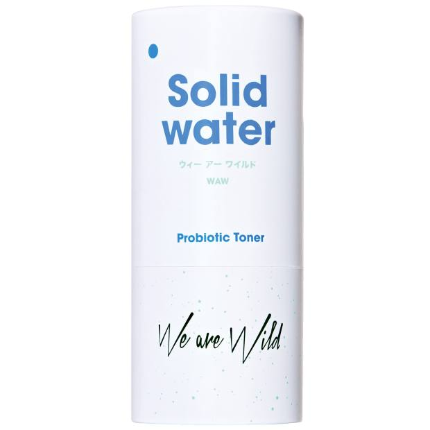 We Are Wild Solid Water probiotic toner, $24