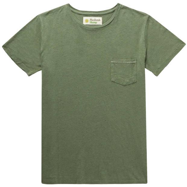 Mollusk hemp T-shirt, £45, mrporter.com