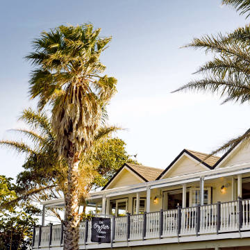 Waiheke's Oyster Inn has a relaxed vibe and a great seafood restaurant