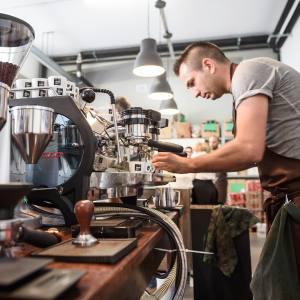 Goppion Caffè is an atmospheric little café near Venice's Rialto market