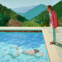 Portrait of an Artist (Pool with Two Figures), 1971