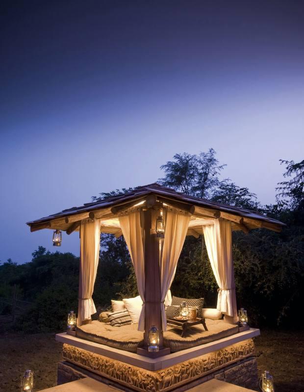 Taj Safaris' Pashan Garh lodge, Madhya Pradesh