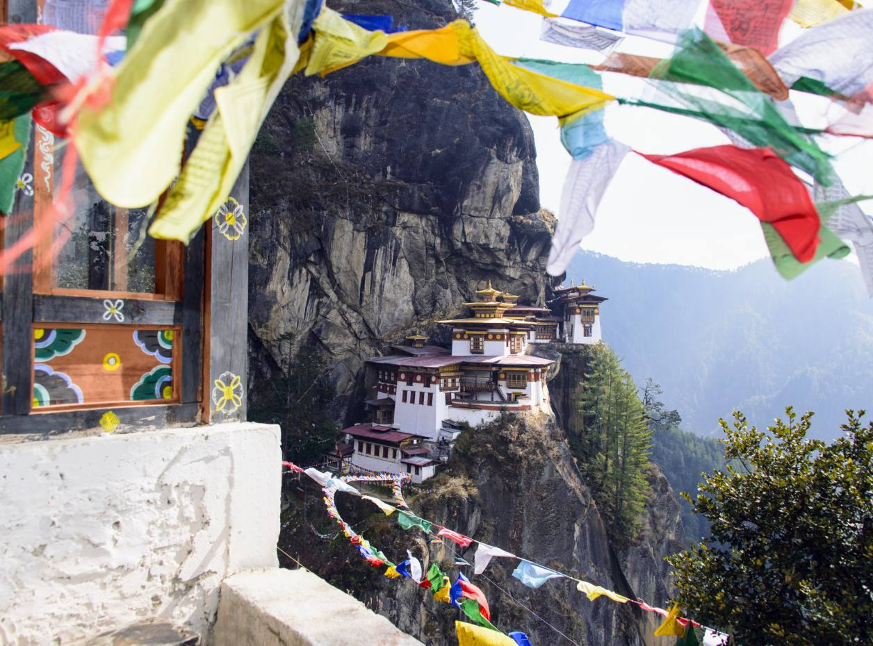 The Tiger's Nest Buddhist monastery, Bhutan