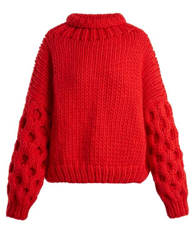 I Love Mr Mittens wool Honey sweater, £395