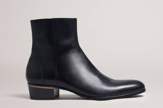Dunhill leather Duke boots, £775