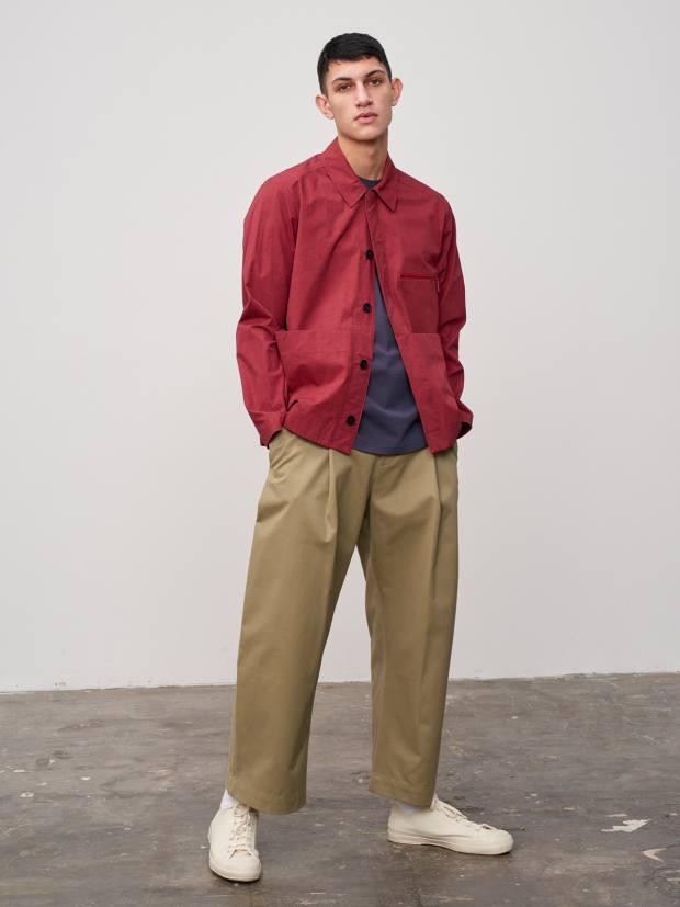Studio Nicholson Morales Japanese paper-cotton overshirt, £320