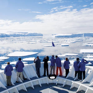 Lindblad Expeditions' National Geographic Explorer takes on the Antarctic.