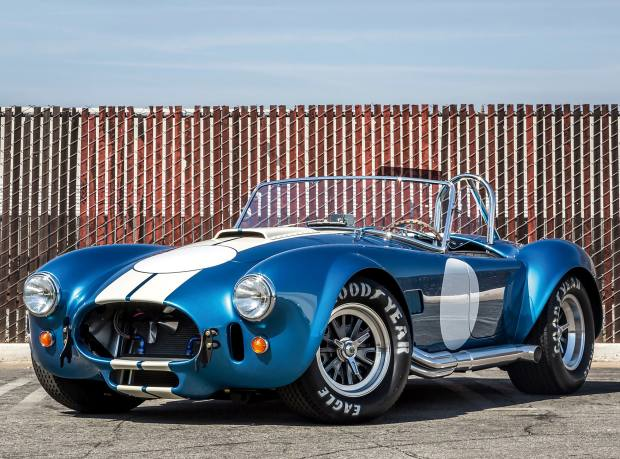 One of 50 new Shelby Cobras, from $75,000 from Superformance