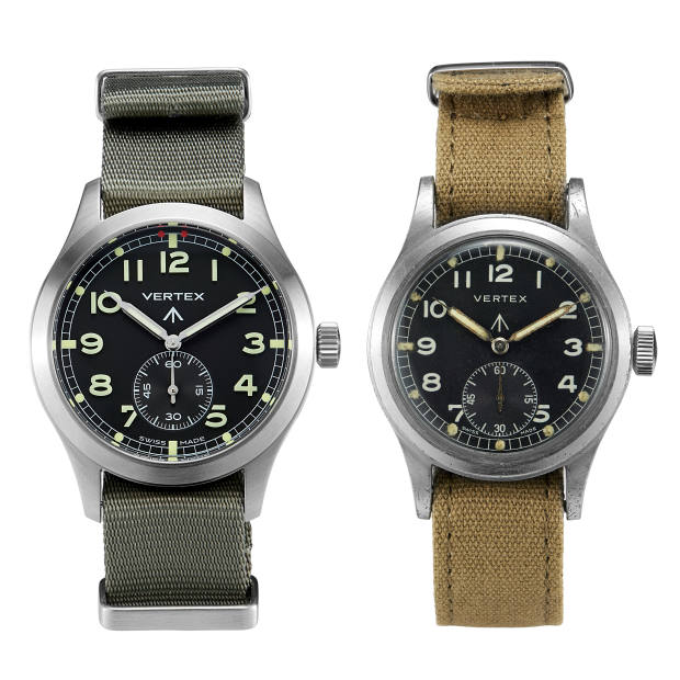 In addition to the initial 60 invitees, anybody who already owns a historic Vertex second-world-war watch may buy a new one