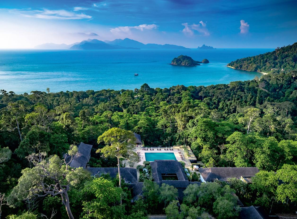 The Datai resort on Malaysia's Langkawi island
