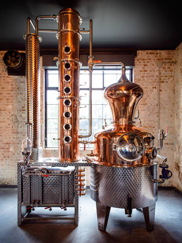 The East London Liquor Company's whisky will be one of the first to bedistilled in London formore than 100 years