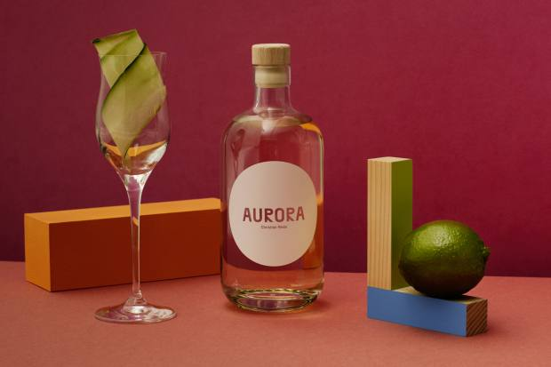 The Cocktail Aurora (about £55 for 50cl) is a refreshing blend of gin and sake with elderflower, orange blossom, cucumber and lime