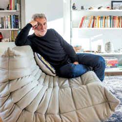 Matthew Hilton at home in London