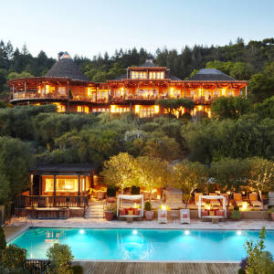 Napa Valley veteran Auberge du Soleil – the hotel and spa was originally opened as a restaurant in 1981