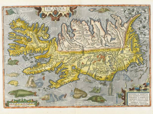 Iceland map by Abraham Ortelius (1585) sold for £5,625 at Sotheby's.