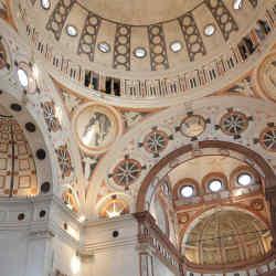 The Basilica di Santa Maria delle Grazie in Milan