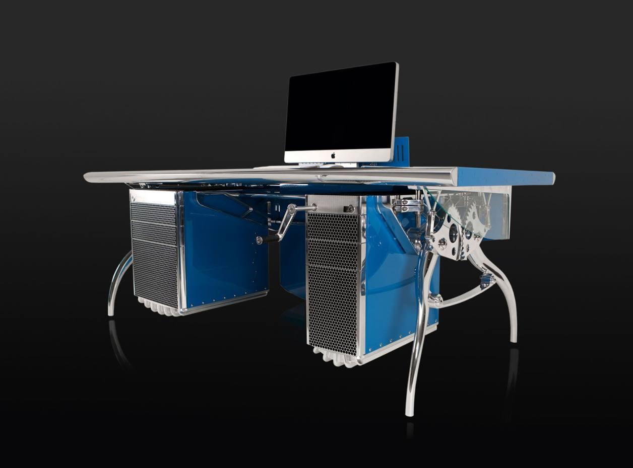 Luzzo Bespoke's Bugatti-inspired desk, £150,000.
