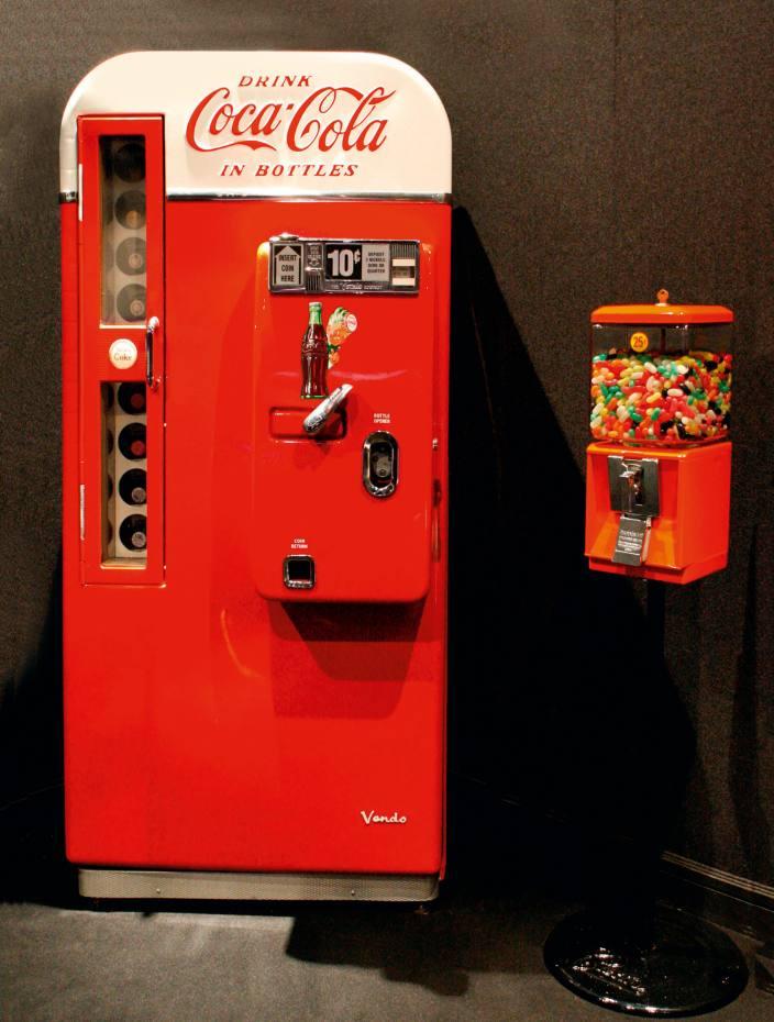 1957 Vendo 81 Coca-Cola machine, £9,750at Games Room Company