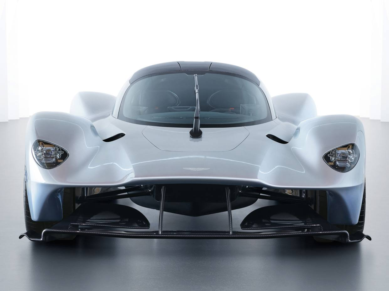 Aston Martin Valkyrie hybrid hypercar, guide price of £2.5m to £3m