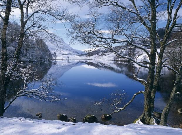 Glen Spean in the Scottish Highlands