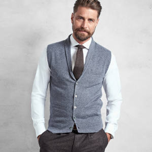 Brooks Brothers cashmere jumper vest, £460
