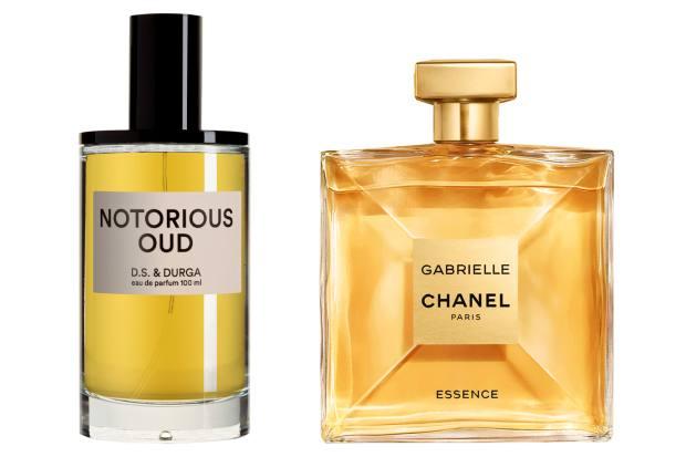 DS & Durga Notorious Oud, £220 (100ml), harrods.com. Chanel Gabrielle Chanel, £118 (100ml)