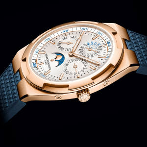 Vacheron Constantin pink-gold ultra‑thin Overseas, from £66,500