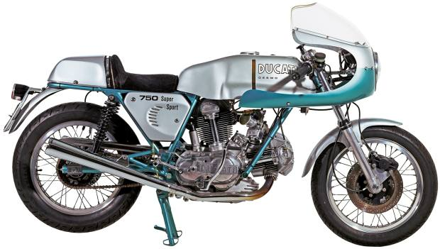 "The 1970s ""green frame"" Ducati 750SS models – now worth about £140,000 – could potentially reach seven figures"