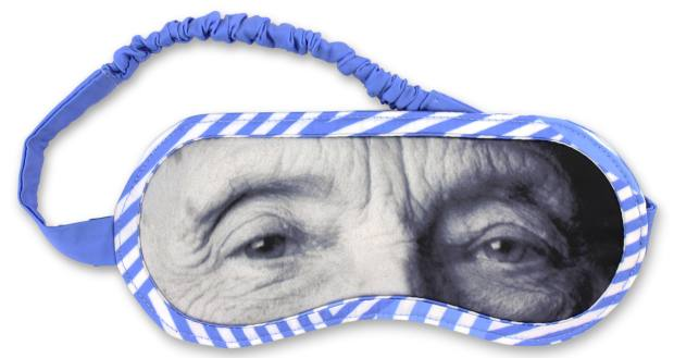 Louise Bourgeois sleep mask, €29