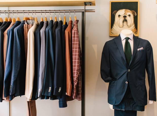 A selection of pieces at Trunk Clothiers by Boglioli, Salvatore Piccolo, Bigi, Massimo Alba, Junya Watanabe MAN and Camoshita United Arrows