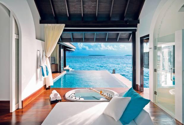 Anantara's medical spa at Kihavah in the Maldives