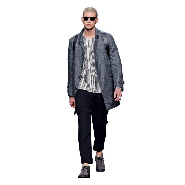 Oliver Spencer cotton/linen shirt, £149