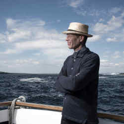 Inis Meáin knitted linen New Pub Jacket, £300