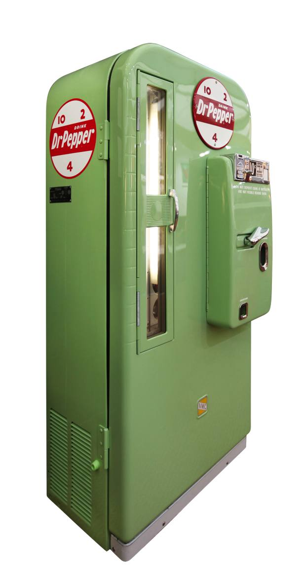 1957 Vendo 81 Dr Pepper machine, £15,000 from Games RoomCompany