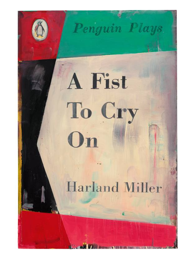A Fist to Cry On (2015) by Harland Miller