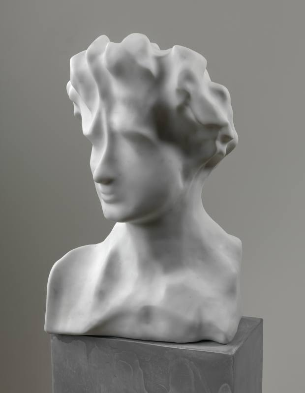 Marble Untitled head, 2014, by Daniel Silver, sculptures from £50,000