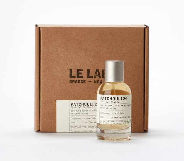 Le Labo Patchouli 24, £120 for 50ml EDP