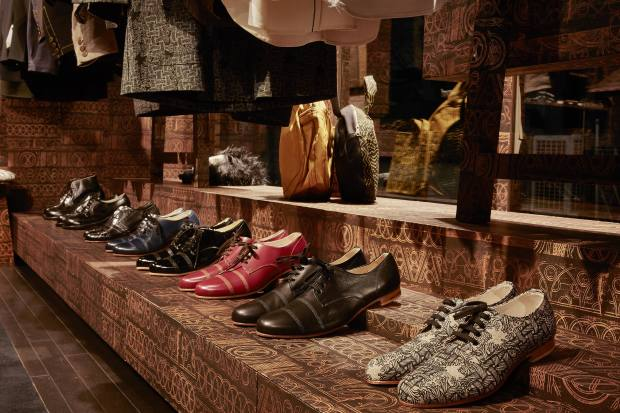 An array of Christopher Nemeth lace-up shoes
